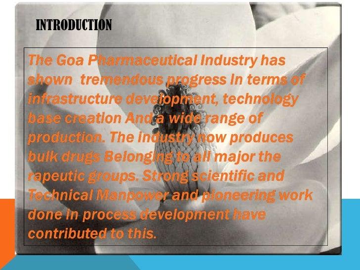 Pharmaceutical industry Slide 3