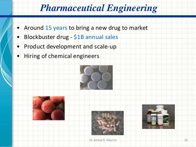 chemical engineering in pharmaceutical industry pdf