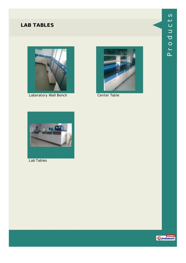 LAB TABLES Laboratory Wall Bench Center Table Lab Tables Products
