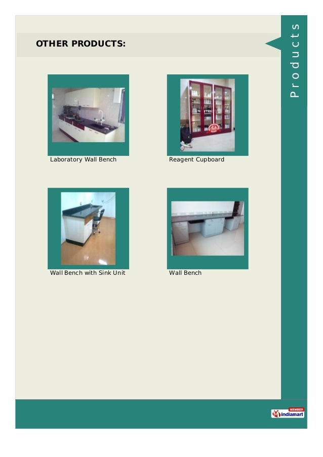 OTHER PRODUCTS: Laboratory Wall Bench Reagent Cupboard Wall Bench with Sink Unit Wall Bench Products