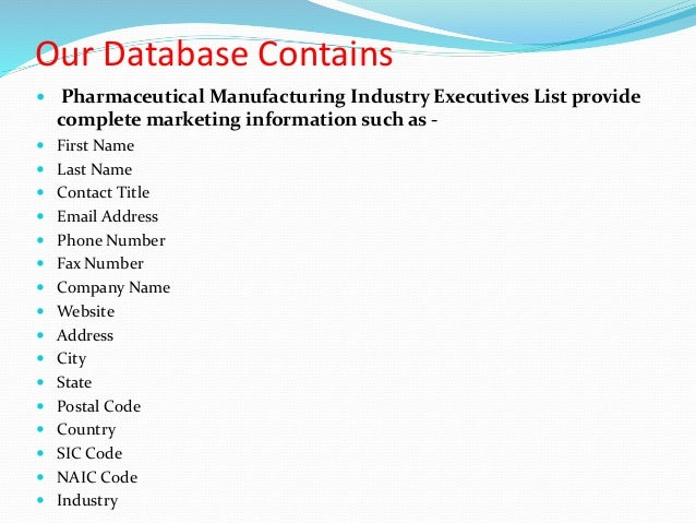 Pharmaceutical Companies This page contains corporate information for pharmaceutical companies marketing products in the United States. Information includes company addresses, telephone numbers, stock quotes, links to corporate websites, lists of medicines, support and .