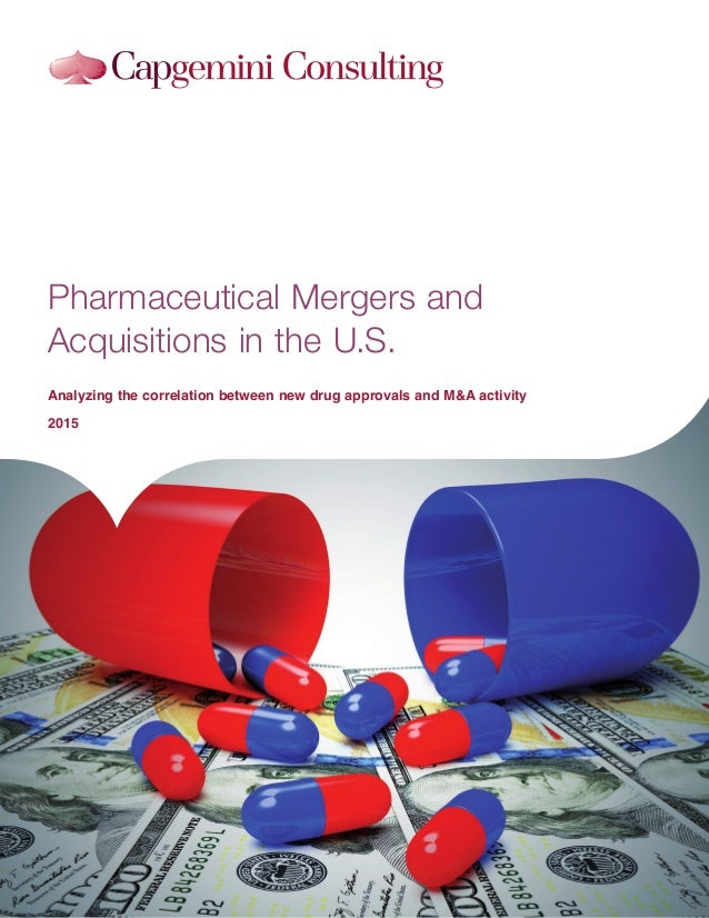the way we do itHeader-solution Pharmaceutical Mergers and Acquisitions in the U.S. Analyzing the correlation between new ...