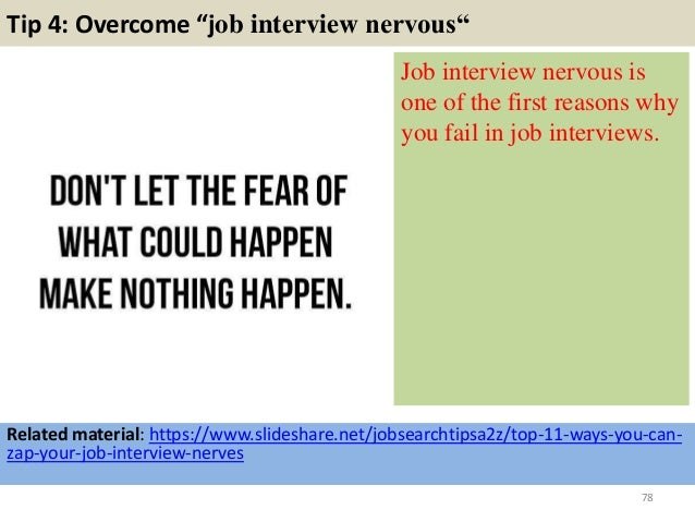 78 tip 4 overcome job interview - Sales Manager Interview Questions Sales Job Interview