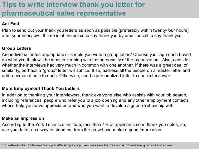 3 tips to write interview thank you letter