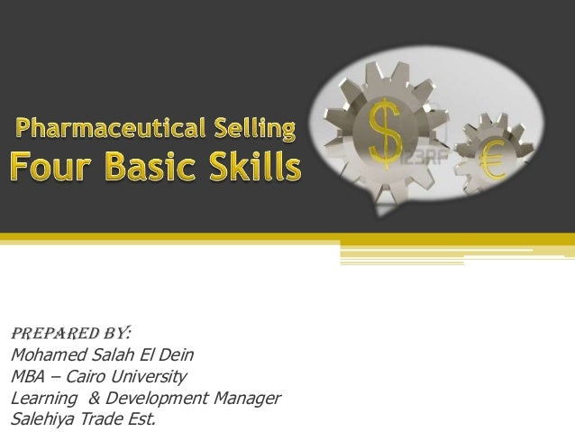 Prepared By: Mohamed Salah El Dein MBA – Cairo University Learning & Development Manager Salehiya Trade Est.