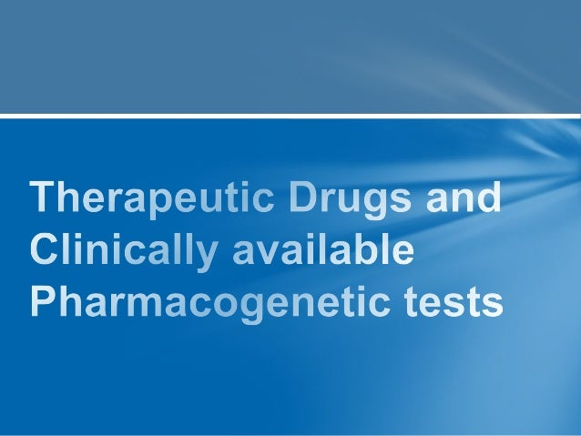 Tests increasingly used 1. Variants of different HLA strongly linked to susceptibility to severe idiosyncratic reactions 2...