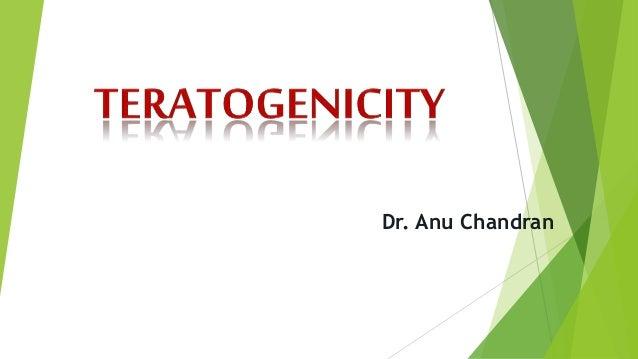 Dr. Anu Chandran