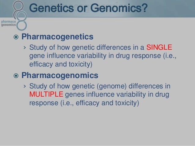 pharmacogenetics devang