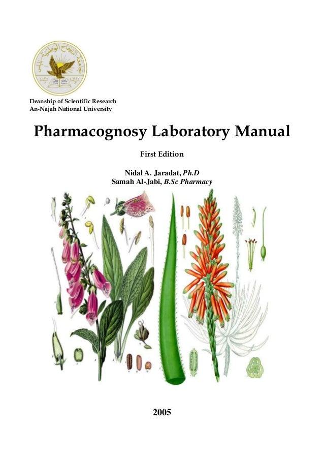 Pharmacognosy textbook pdf of