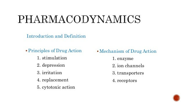 Pharmacodynamics OR Pharmacology Slide 2