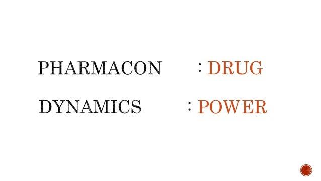 Pharmacodynamics OR Pharmacology Slide 3