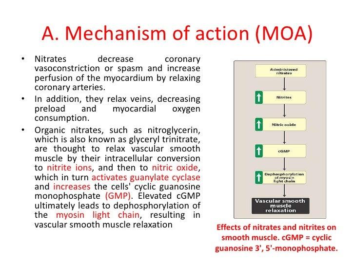 Pharmacology angina
