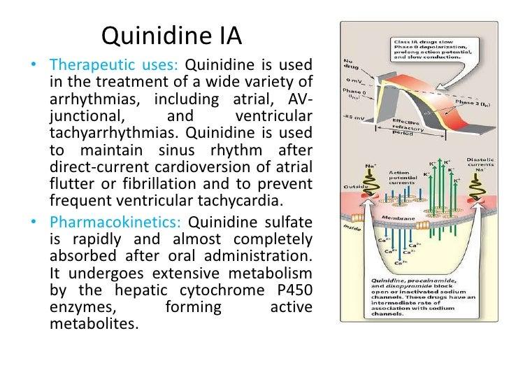 Pharmacology antiarrhythmias