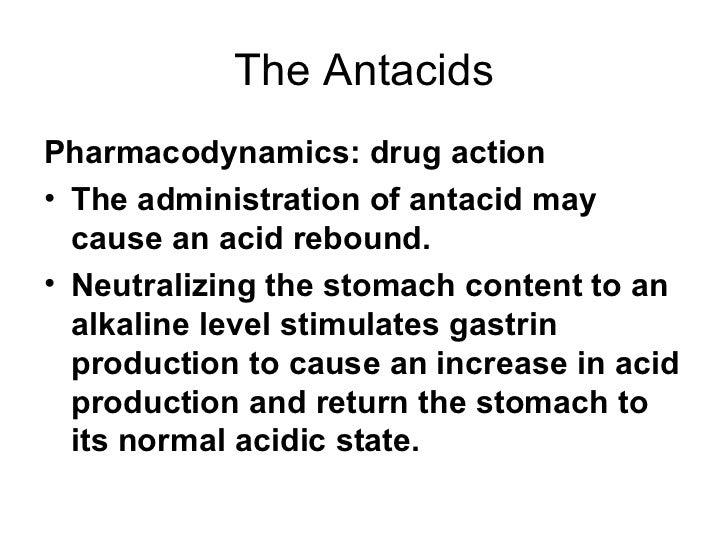 importance of antacids