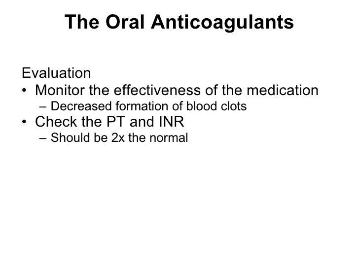 Pharmacology Hematologic Drugs