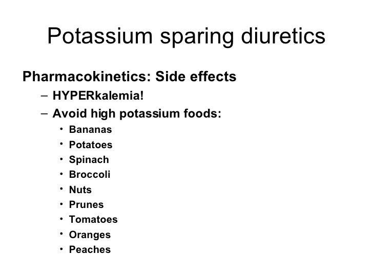 Aldactone Side Effects Potassium