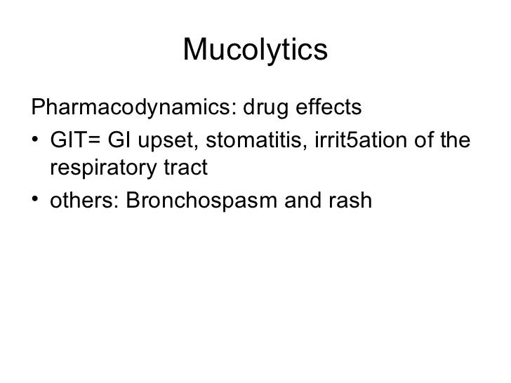 pharmacology respiratory drugs  22