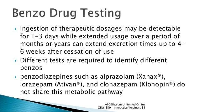 klonopin onset peak duration pharmacology dictionary
