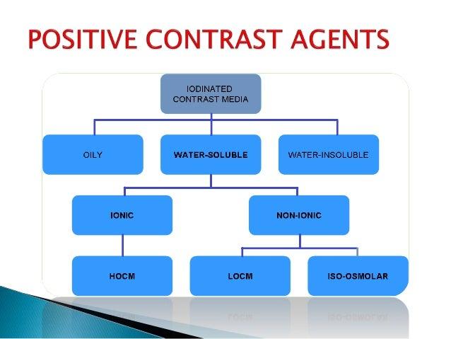 Oral Contrast Media 13