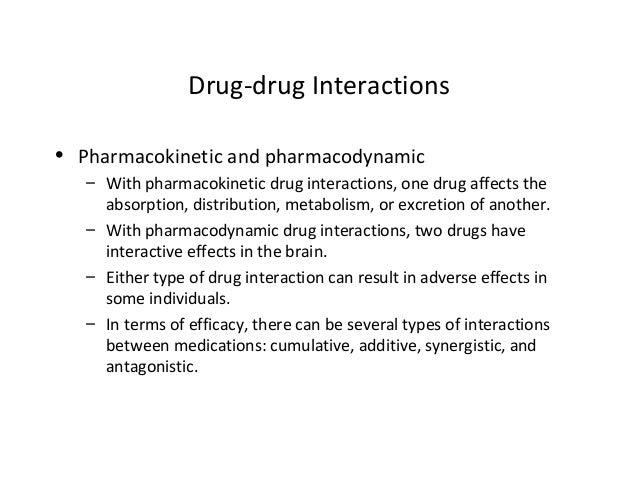 interactive drug effect