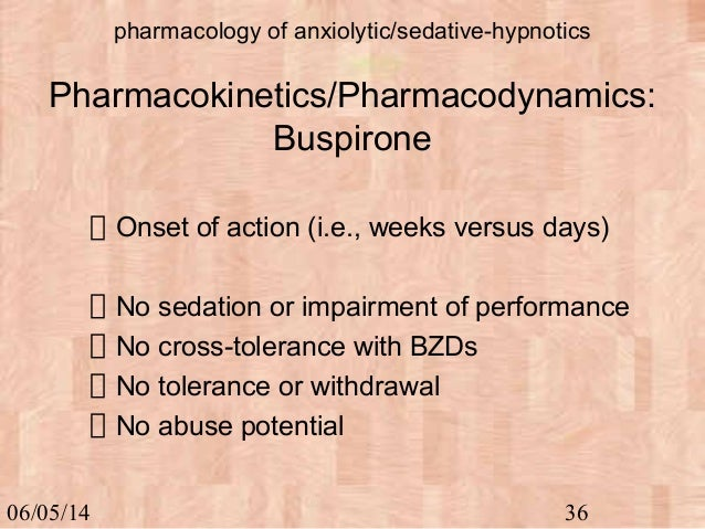 hypnotic or anxiolytic dependence