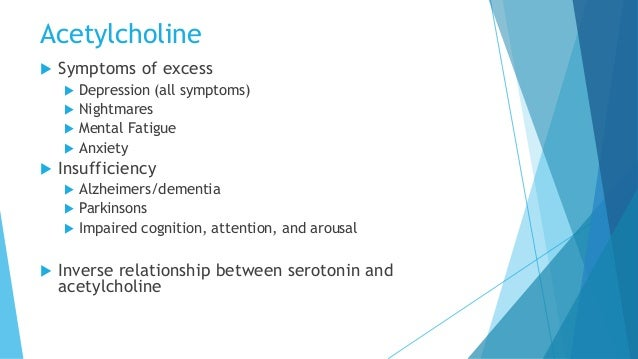 dopamine relationship with acetylcholine