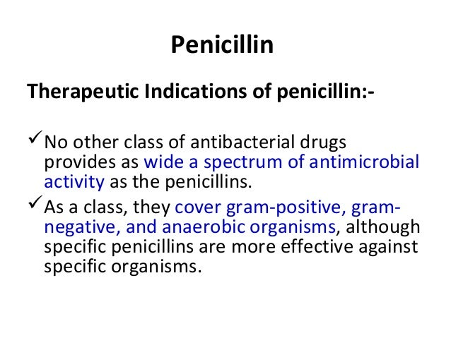 Pharmacology of Antibiotics