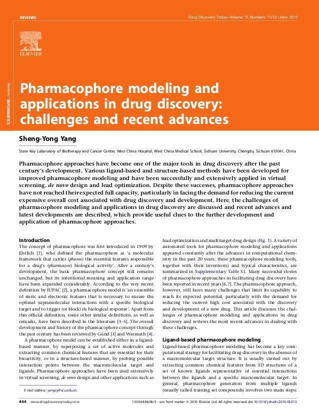 REVIEWS                                                                                           Drug Discovery Today  Vo...