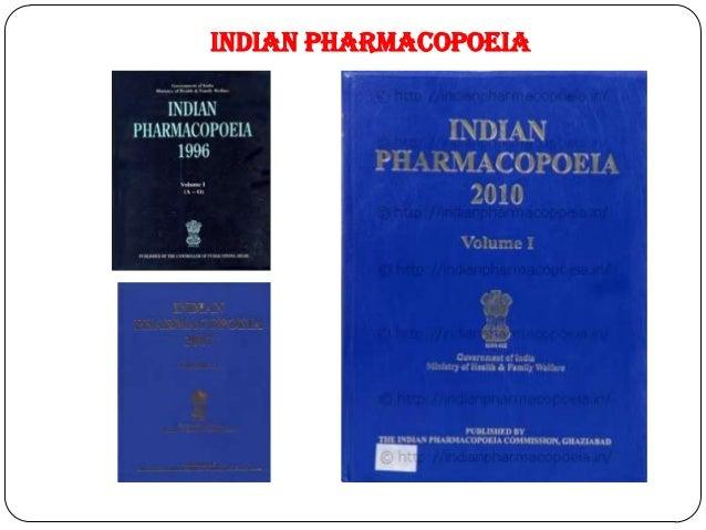 Pharmacopoeias 12 indian pharmacopoeia fandeluxe Gallery