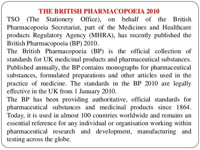 Pharmacopoeias the british pharmacopoeia 2010 fandeluxe Gallery