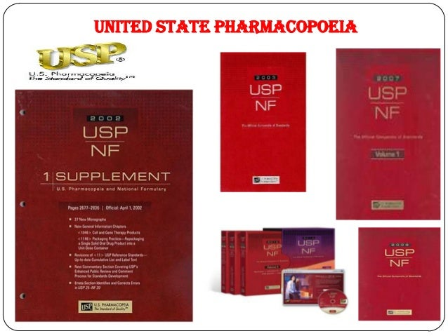 United States Pharmacopeia Book