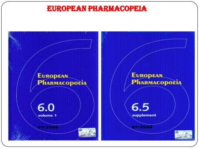 European Pharmacopoeia 6th Edition Pdf