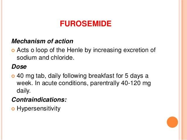 Amiloride Furosemide Side Effects