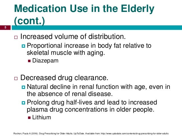 medication compliance in elderly Since medications may be prescribed long-term to treat chronic conditions and short-term for curable conditions, changes in medication regimens in the elderly are common and contribute to the problem of non-compliance.