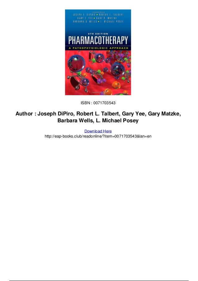 Pharmacotherapy handbook, eighth edition: courseload ebook for.