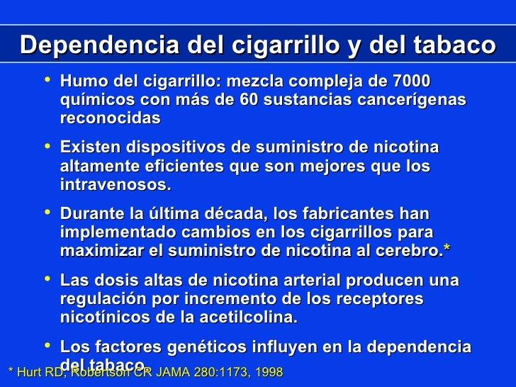 El fumar la mala costumbre o la enfermedad el compendio