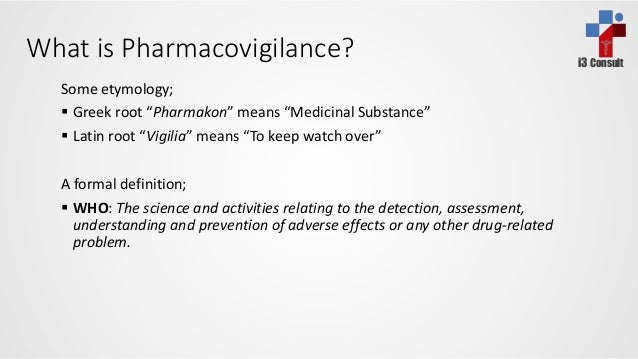Pharmacovigilance  Slide 2