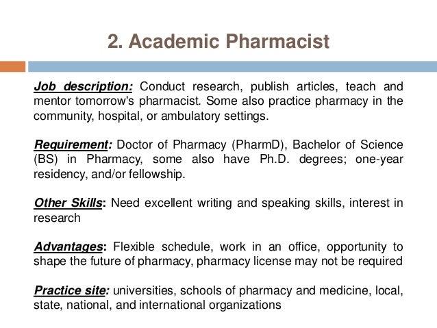 Pharmacy Careers  Pharmacist Practice Settings