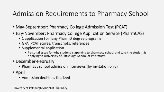 Pharmacy school admission professional essays