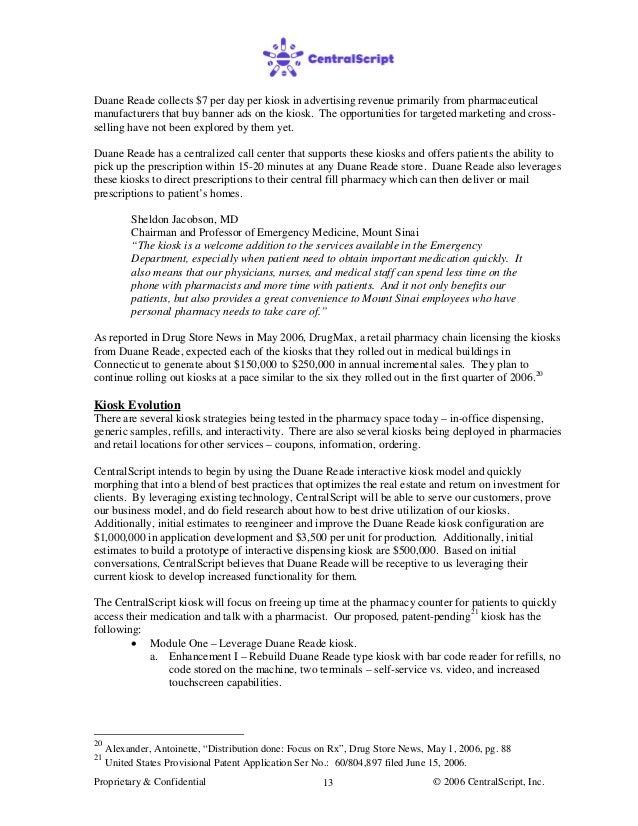pharmacy business plan uk