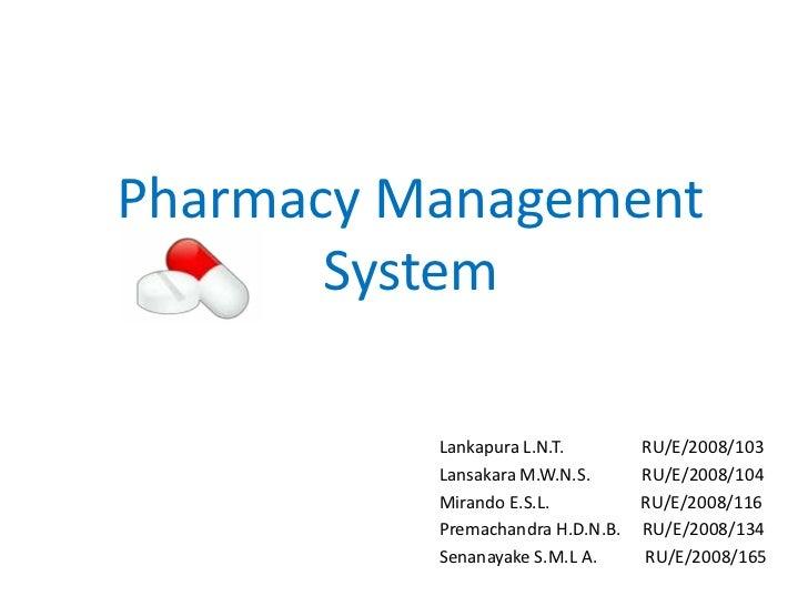 Pharmacy Management System1