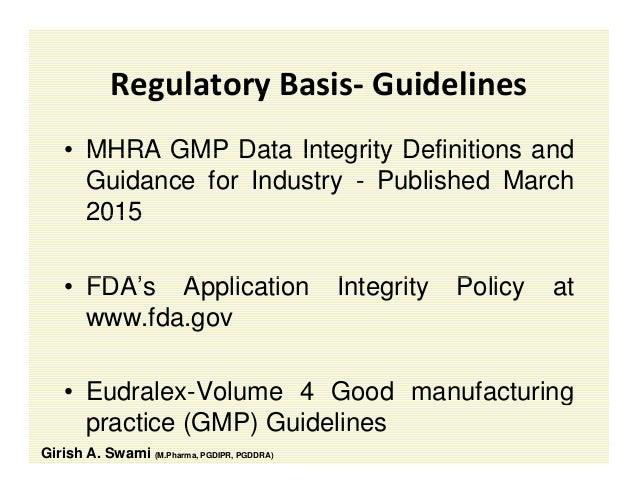 fda application integrity policy