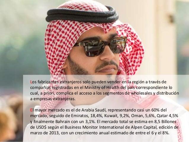 Los fabricantes extranjeros solo pueden vender en la región a través de compañías registradas en el Ministry of Health del...