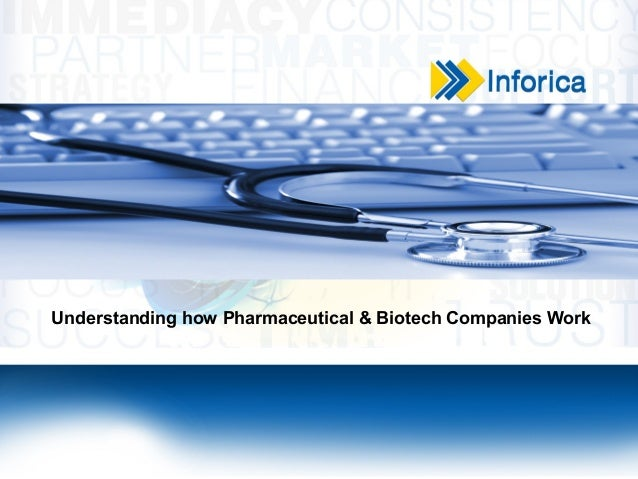 Understanding how Pharmaceutical & Biotech Companies Work