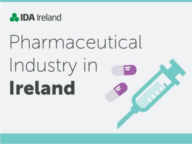 Infographic:  The Pharm Industry in Ireland via IDA Ireland