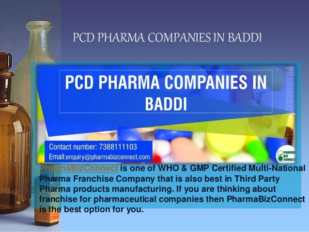 List Of Pharmaceutical Companies In Baddi With Address