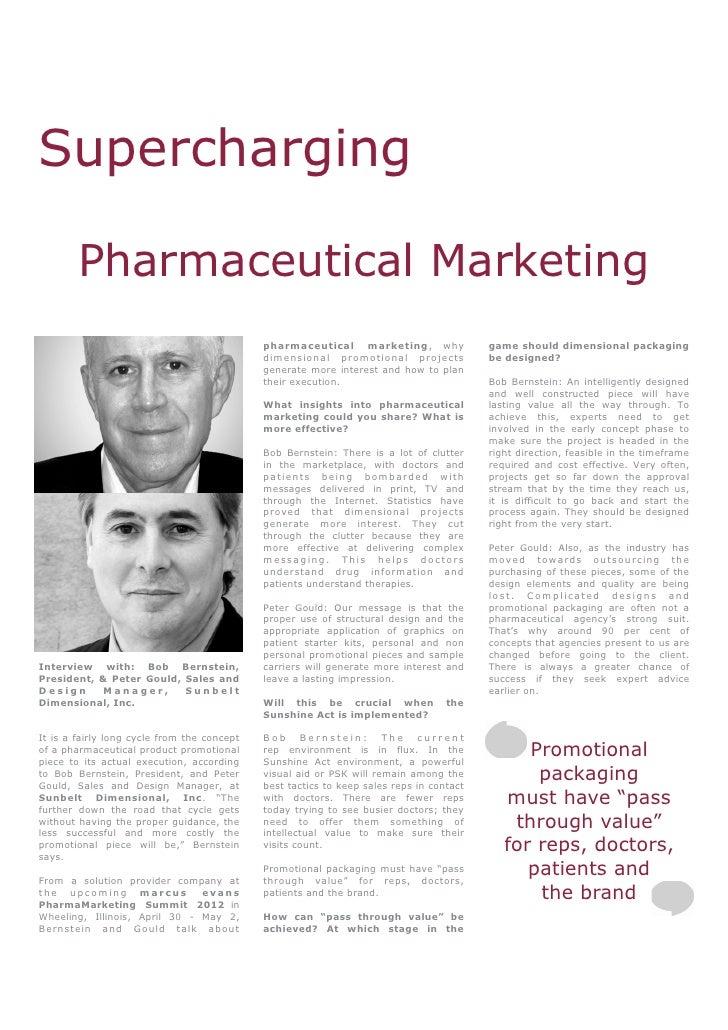 Supercharging        Pharmaceutical Marketing                                             pharmaceutical marketing, why   ...