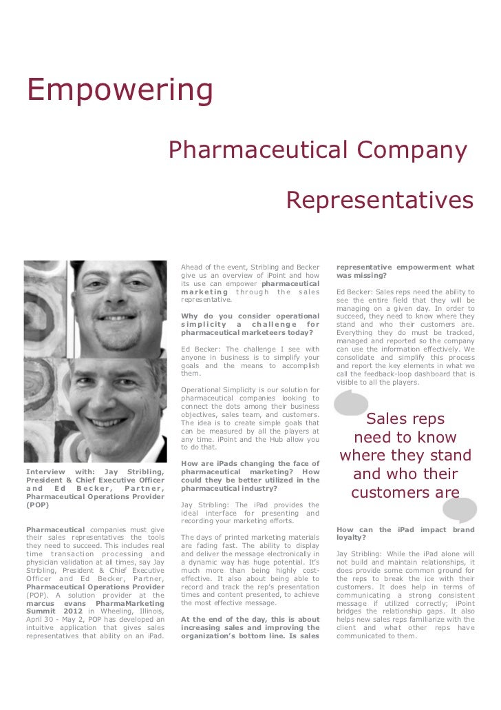 Empowering                                             Pharmaceutical Company                                             ...