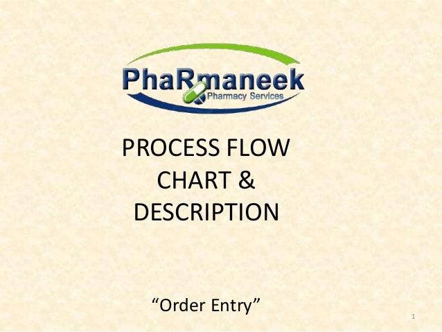 Pharmaneeks Process Flow Chart Description