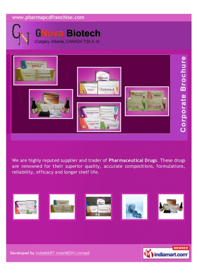 We are highly reputed supplier and trader of Pharmaceutical Drugs. These drugsare renowned for their superior quality, acc...